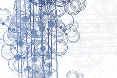 Free Flowing Lines And Circles Abstract Stock Photos - 7501703
