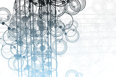 Free Flowing Lines And Circles Abstract Royalty Free Stock Photo - 8063165