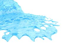 Flowing Liquid stock illustration