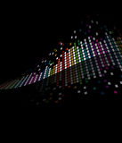 Flowing Mosaic Tile Background Stock Images