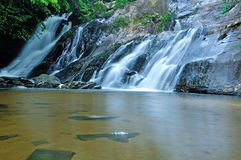 Flowing mountain stream Royalty Free Stock Photography