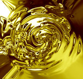 Flowing oil Royalty Free Stock Image