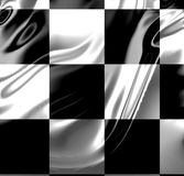 Flowing racing flag Stock Photo