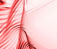 Flowing Reds Abstract Royalty Free Stock Image