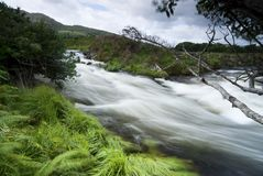 Flowing river Royalty Free Stock Images