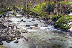 Flowing river Stock Image
