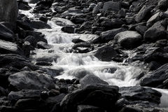 Flowing river Royalty Free Stock Image