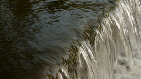 Flowing river water close-up. stock footage