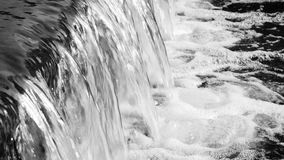 Flowing river water close-up. stock video footage
