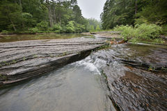 Flowing rocky creek clear clean water. Arkansas royalty free stock photos