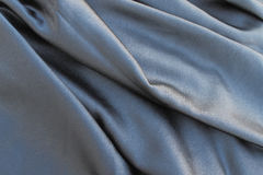 Flowing satin fabric Stock Images