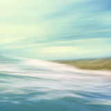 Flowing Sea Abstract Royalty Free Stock Photography