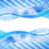 Flowing Sky Celebration Stars Background Stock Images