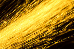 Flowing Sparks, abstract background Royalty Free Stock Photography