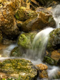 Flowing Springwater Stock Photo