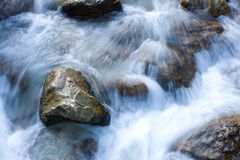 Flowing stream Stock Photos