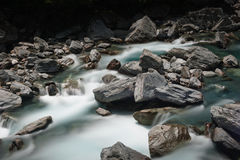 Flowing stream Stock Image