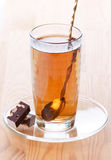 Flowing tea Royalty Free Stock Photo