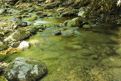 Flowing water Royalty Free Stock Photos