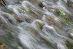 Flowing Water. Soft image of flowing water Royalty Free Stock Images