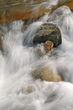 Flowing Water. Close up shot of flowing water in the river Stock Photos
