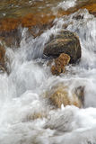 Flowing Water. Close up shot of flowing water in the river Stock Images