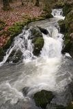Flowing water in Ambleside, England. Stock Image