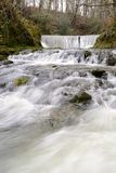 Flowing water in Ambleside, England. Royalty Free Stock Photos