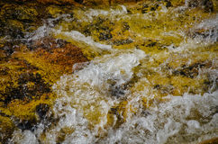Flowing water Royalty Free Stock Images