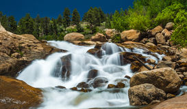 Flowing Water Fall Royalty Free Stock Photos