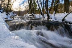 Flowing Water, Plitvice Stock Photo
