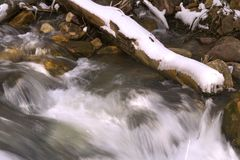 Flowing water in River Stock Image