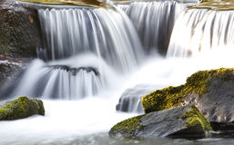 Flowing Waterfall Royalty Free Stock Photo