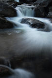 Flowing Waterfall Stock Photography