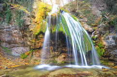 Flowing waterfall Royalty Free Stock Image