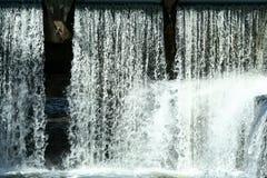Flowing waterfall Stock Photo