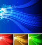 Flowing Wave Background Stock Photos