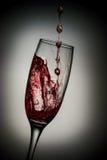 Flowing wine Stock Photo