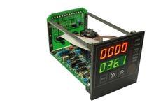 Flowmeter. Stock Photo
