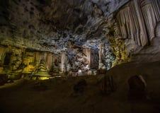 Flowstones στις διάσημες σπηλιές Cango στη Νότια Αφρική Στοκ Εικόνα