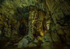 Flowstones στις διάσημες σπηλιές Cango στη Νότια Αφρική Στοκ φωτογραφίες με δικαίωμα ελεύθερης χρήσης