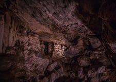 Flowstones στις διάσημες σπηλιές Cango στη Νότια Αφρική Στοκ Φωτογραφίες
