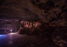 Flowstones στις διάσημες σπηλιές Cango στη Νότια Αφρική Στοκ εικόνες με δικαίωμα ελεύθερης χρήσης
