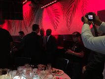 Floyd Mayweather At Boxing Writers Dinner. Boxing Writers Dinner at Copacabana NYC Royalty Free Stock Photos