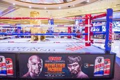 Бой Floyd Mayweather и Manny Pacquiao Стоковая Фотография