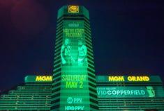 Бой Floyd Mayweather и Manny Pacquiao Стоковые Фото