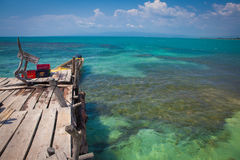 Floyd's Pelican Bar Royalty Free Stock Photography