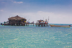 Floyd's Pelican Bar Stock Images