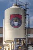 3 Floyds brassant à Munster Indiana Image libre de droits