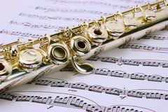 Flöte Stockfoto